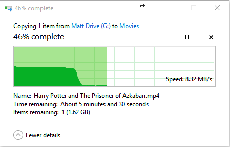 Performance drop during file copying on Windows Server 2012