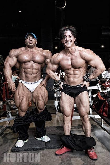 Jc Lewis Ford >> Sadik trying to outangle Big Ramy : bodybuilding