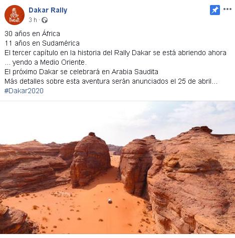 2019 41º Rallye Raid Dakar - Perú [6-17 Enero] - Página 12 Dd64d451d79d628d5dfc5e9fe474694f