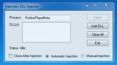 Safe Dll Injector
