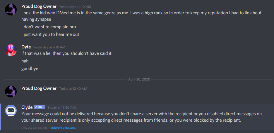 Resolved Synapsex Support Is Garbage