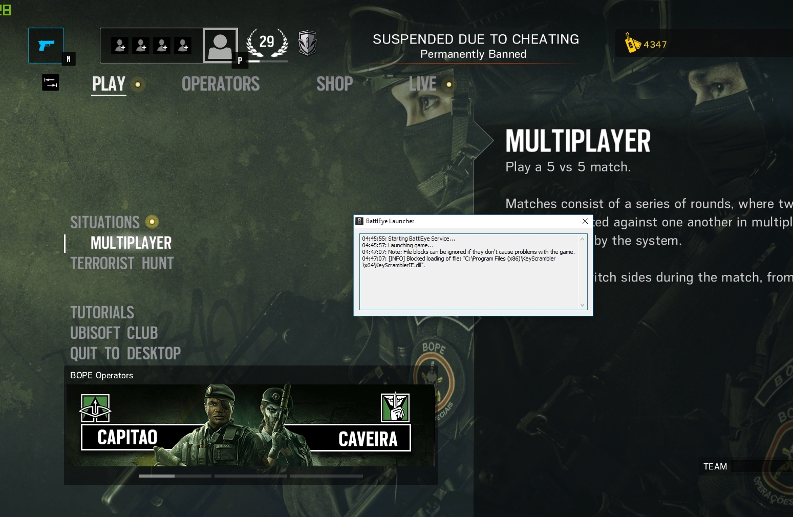 how to get unbanned from battleye