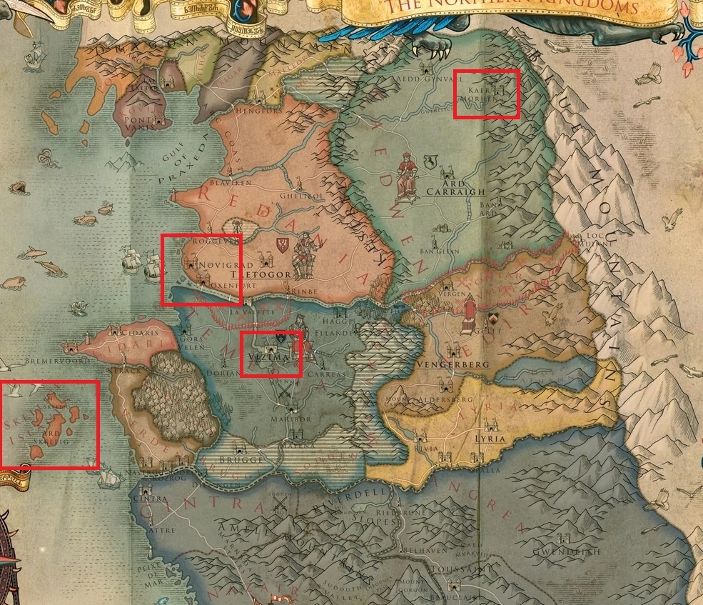 This Witcher 3 Map Really Helped Me Understand The Layout The