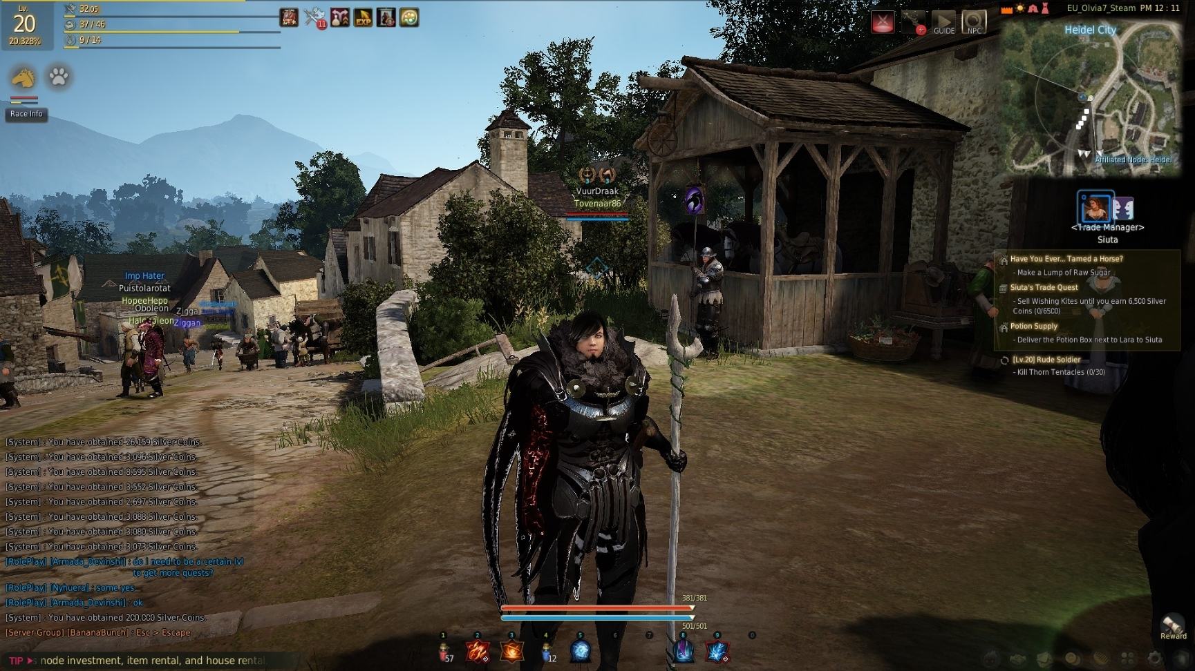 how to add bdo to steam