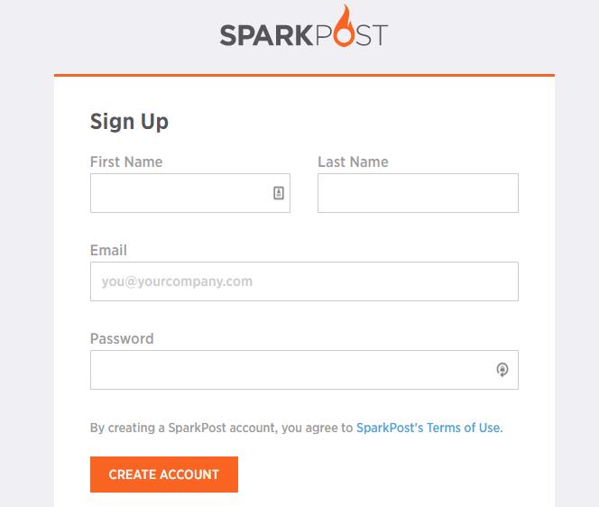 SparkPost SMTP Studio