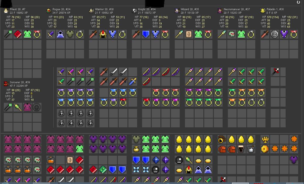 selling accounts all vaults 11 character slots decent pet mpgh