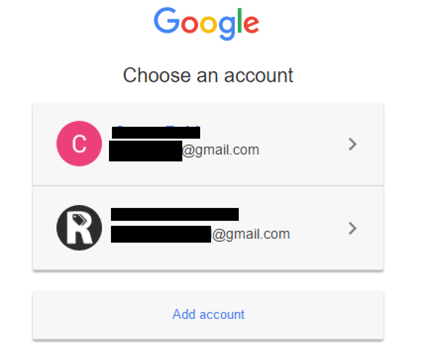 how to change main gmail account