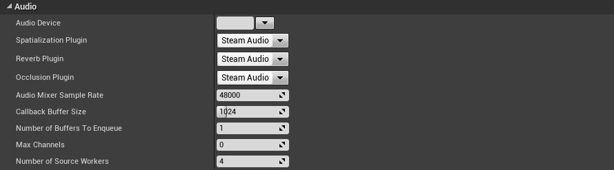 No HRTF option with Steam Audio or Resonance Audio - UE4 AnswerHub