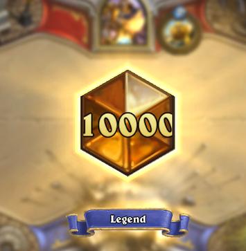 10000 legend pts achieved!