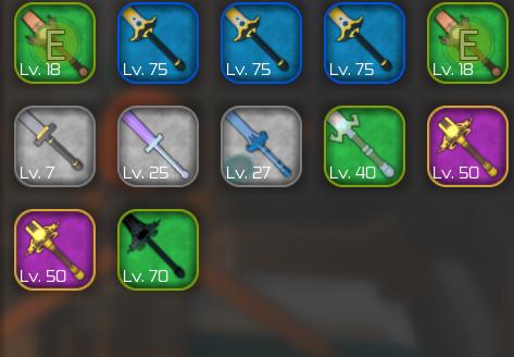 Sword Burst 2 Stuff