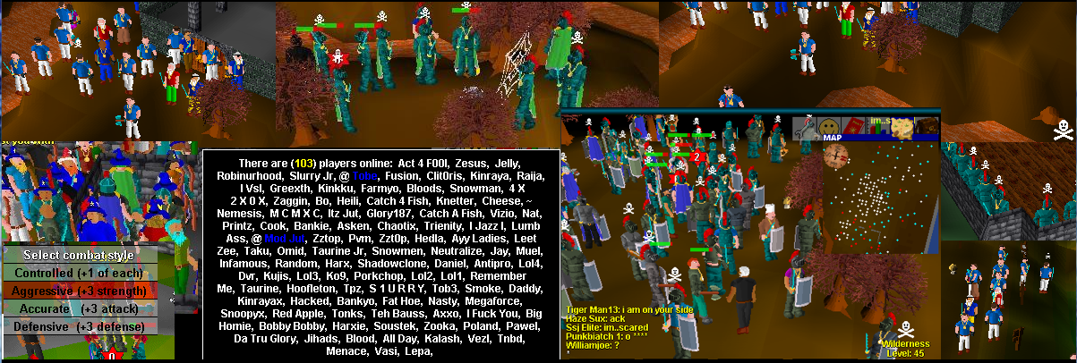 classic runescape private server