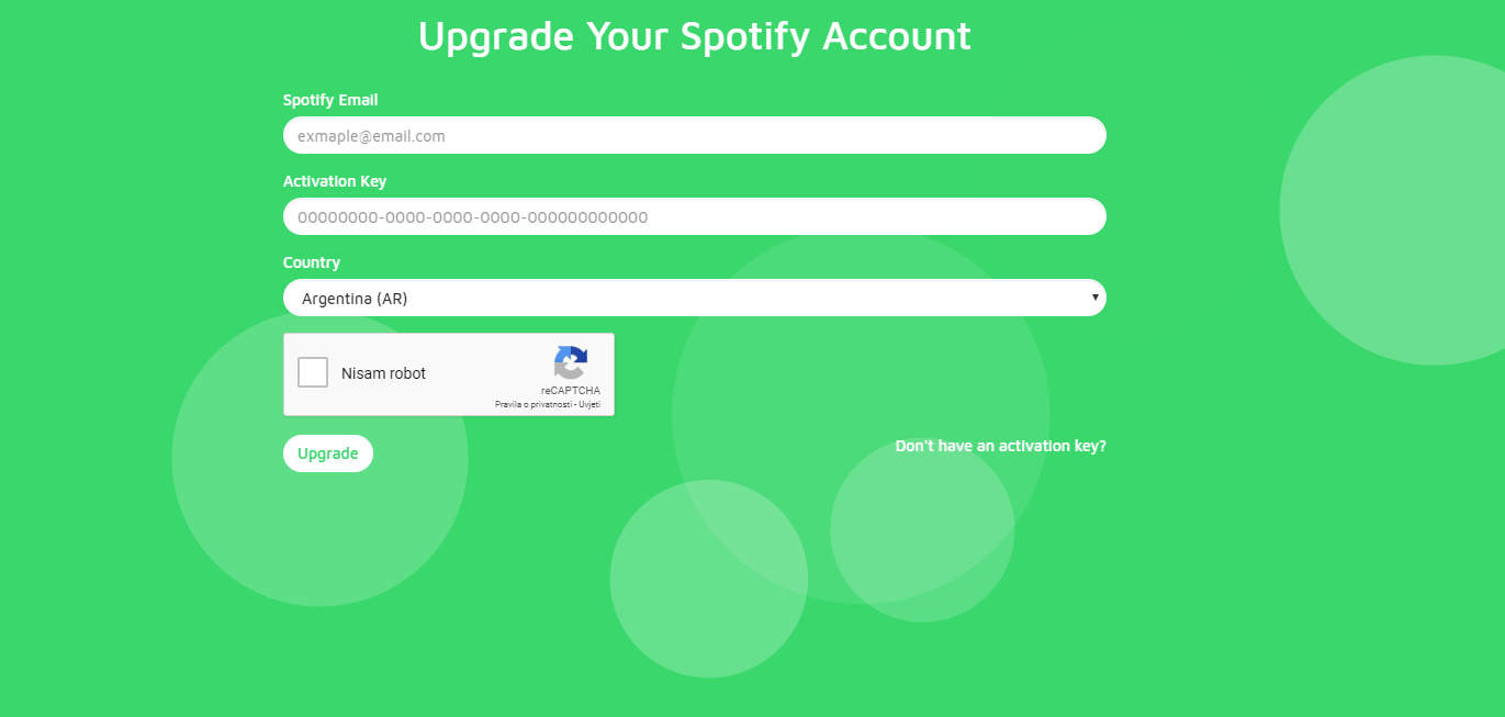 Selling - [AUTOMATED]Spotify ac Upgrade Your Spotify Account