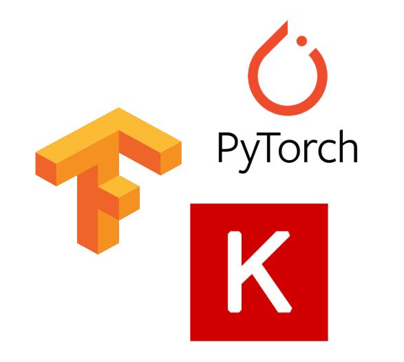 人気のディープラーニングフレームワーク3つを比較 / PyTorch, Keras, TensorFlow