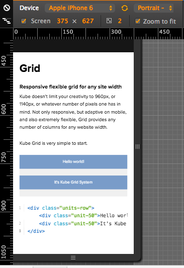 Html kube css grid not responsive on mobile stack overflow for Html css grid