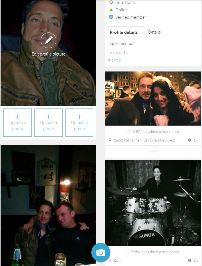 50% club auf einer dating-app