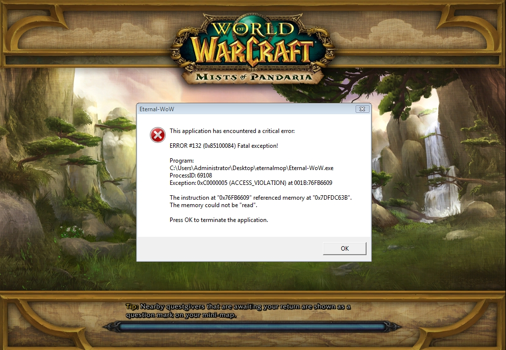 Welcome to Mists of Pandaria • Eternal-Wow!