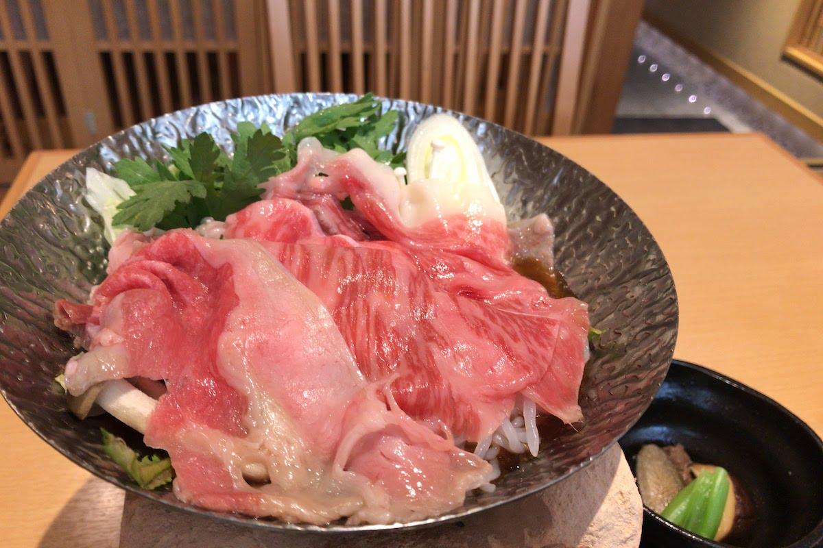 川崎駅周辺 和食 萬喜 すき焼き 肉