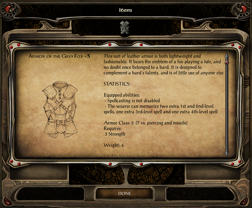 v1 3] Bardic Wonders, a kit and item pack for bards — Beamdog Forums