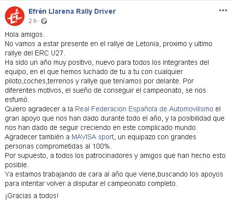 ERC: 6º Rally Liepaja [12-14 Octubre] Eab77ae06f1bdf0666fb50f939aeb1ba
