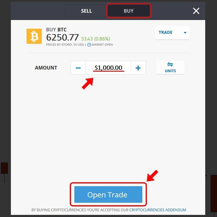 eToro-Bitcoin-купуване