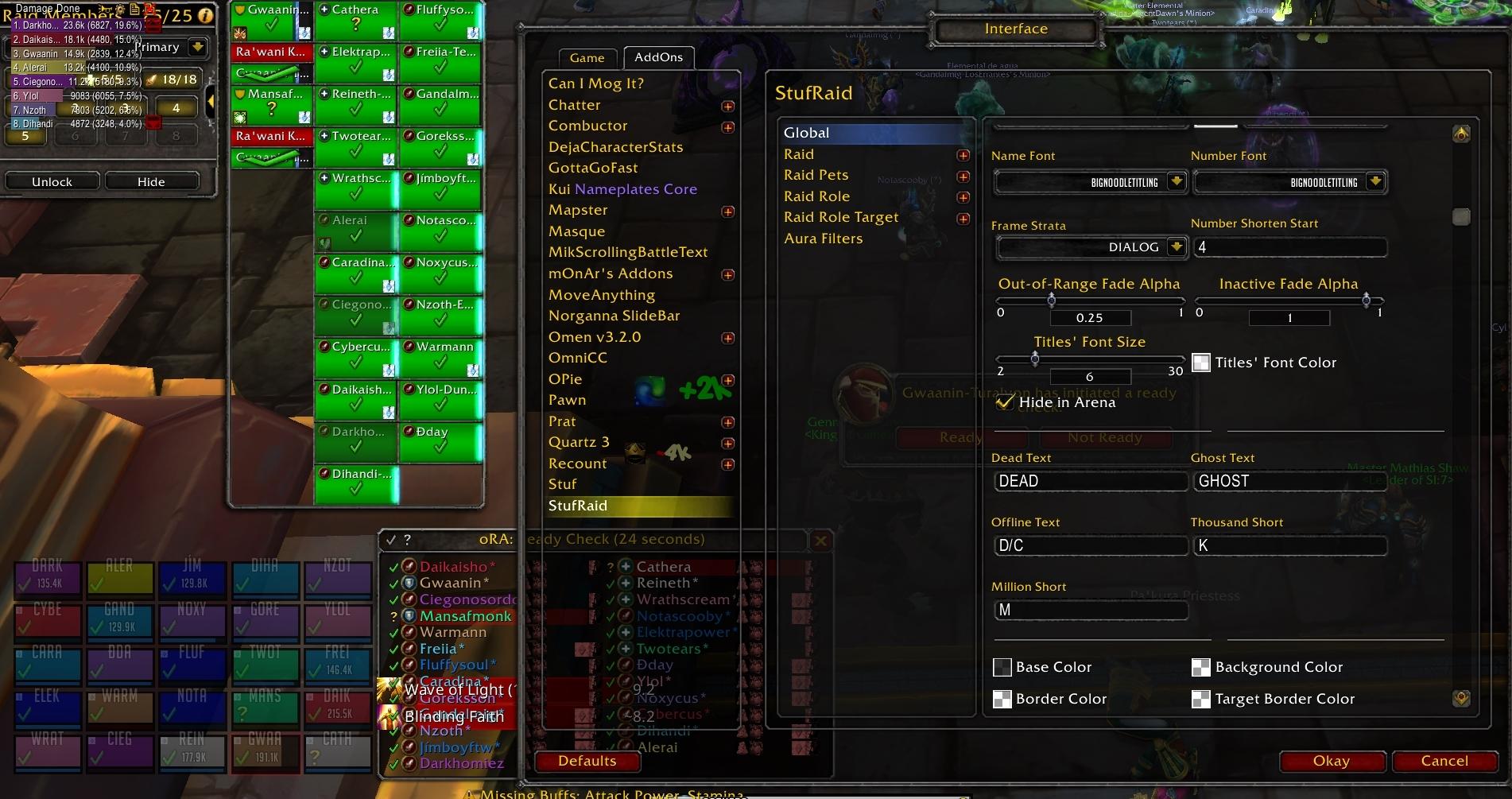 Stuf Unit Frames (and Raid) : Unit Mods : World of Warcraft