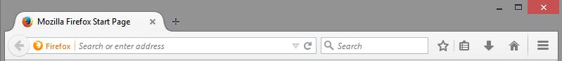 Niezrozumiały podział dwóch kluczowych funkcjonalności i design wzorowany na Chrome. Dla mnie Firefox był zawsze w tyle.