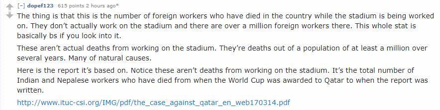 Qatar World Cup Scandals Thread - Page 6 Eca5671dc5f53b68c53619b540a1540e