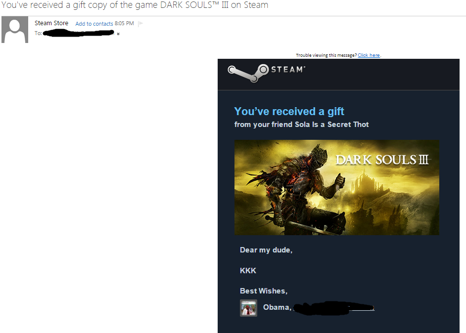 SOLD] Selling Steam Gift of Dark Souls 3 [Only 45$] - MPGH ...