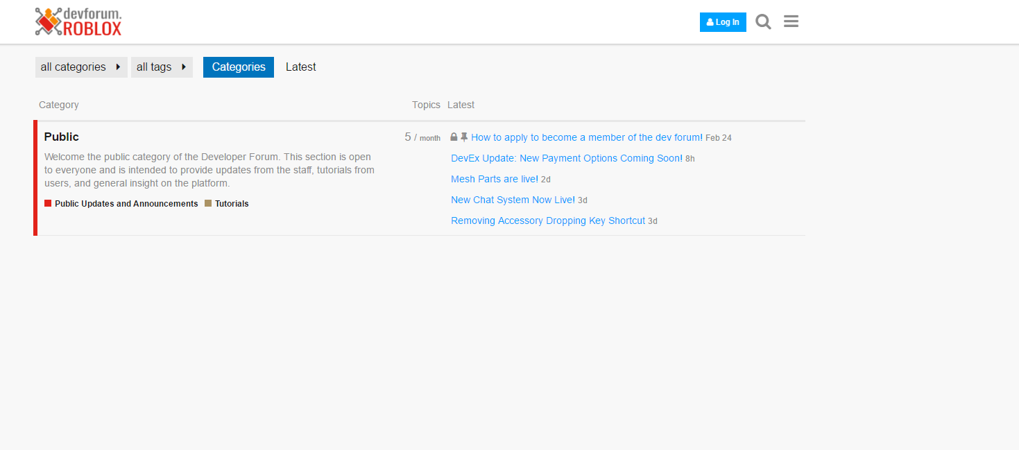 Roblox Devforum New User Tutorial