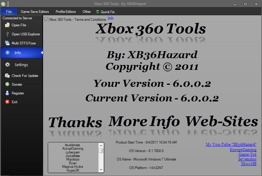 xbox 360 tools 7.0.0.3