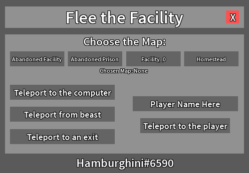 Release Flee The Facility Gui