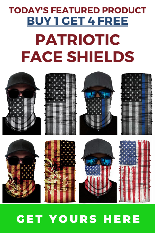 Image of buy 1 get 4 free face shields