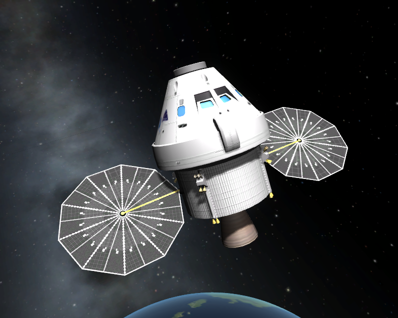 kerbal nasa orion spaceship-#4