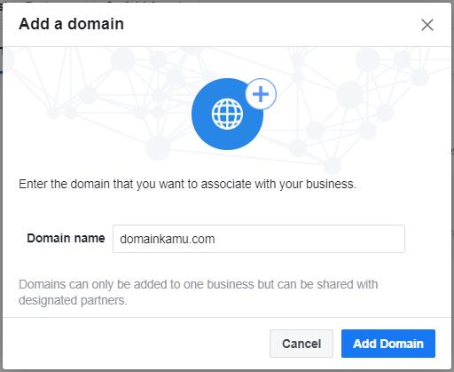 Cara Verifikasi Domain Website di Facebook Agar Tidak Mudah Di Blok (2020) 20