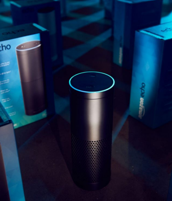 Amazon Echo, one of the many devices that will be integrating with Alexa.