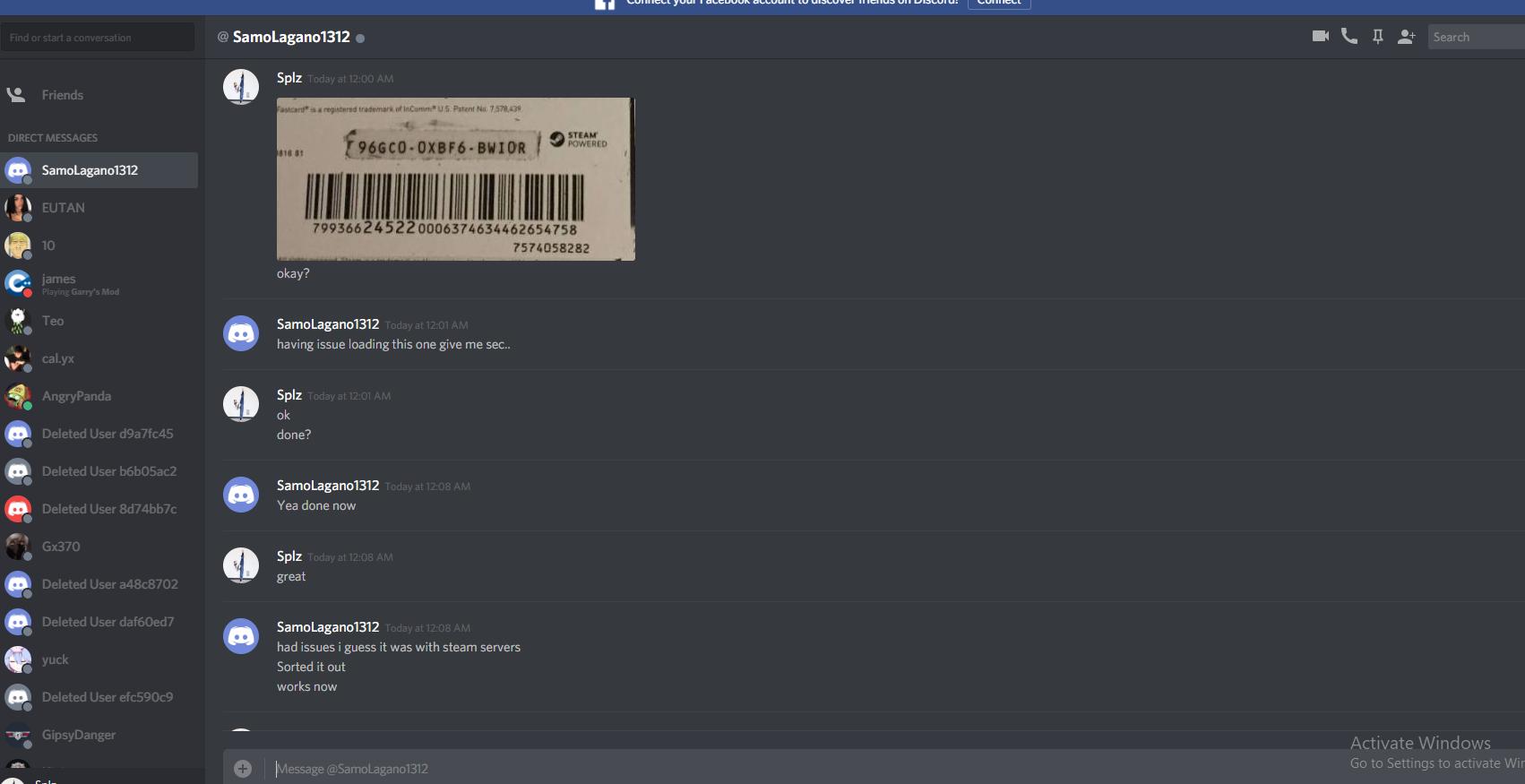 Deleted User Discord Gastronomia Y Viajes