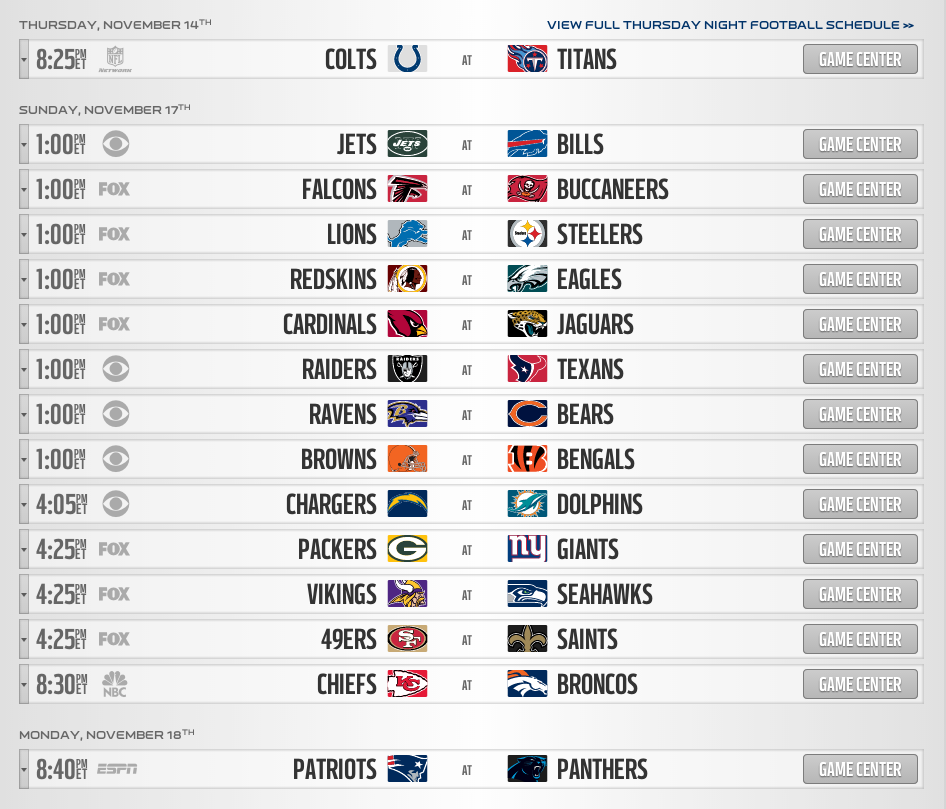 nfl football play offs nfl schedule today odds