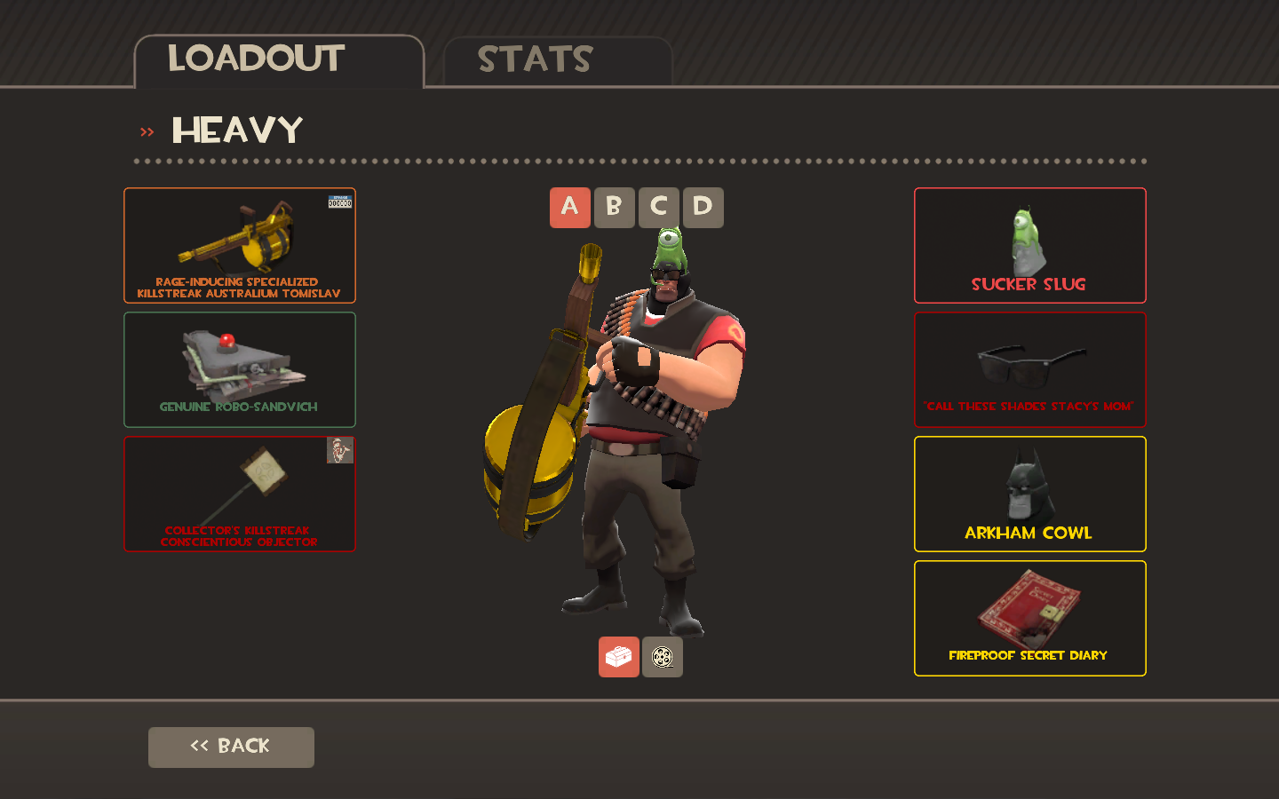 Best Bad Loadouts Team Fortress 2 Discussions