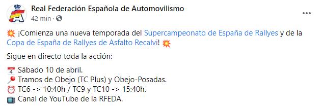 SCER + CERA + CERVH: 38º Rallye Sierra Morena - Internacional [8-10 Abril] F374e9cb7452e14bba85bfd9289fbf4b