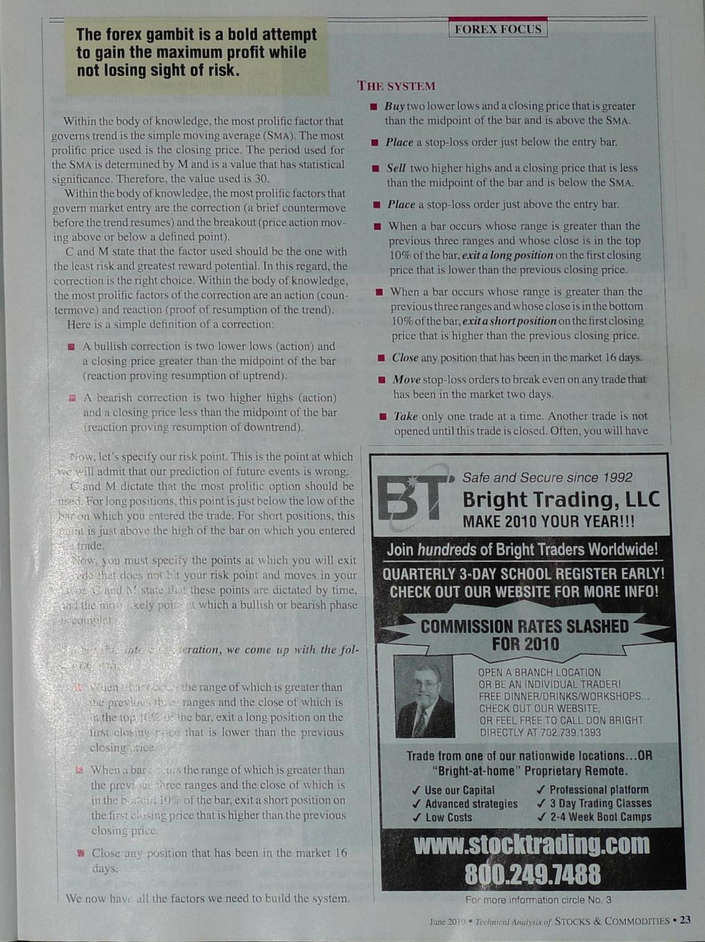 D1] Forex Gambit - дневные графики - Страница 21 - Торговые