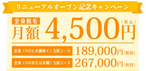 渋谷医療脱毛安いおすすめランキング