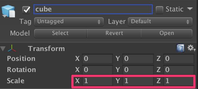 Unityのスケール1とMaya FBXのスケール1を一致させる方法_1