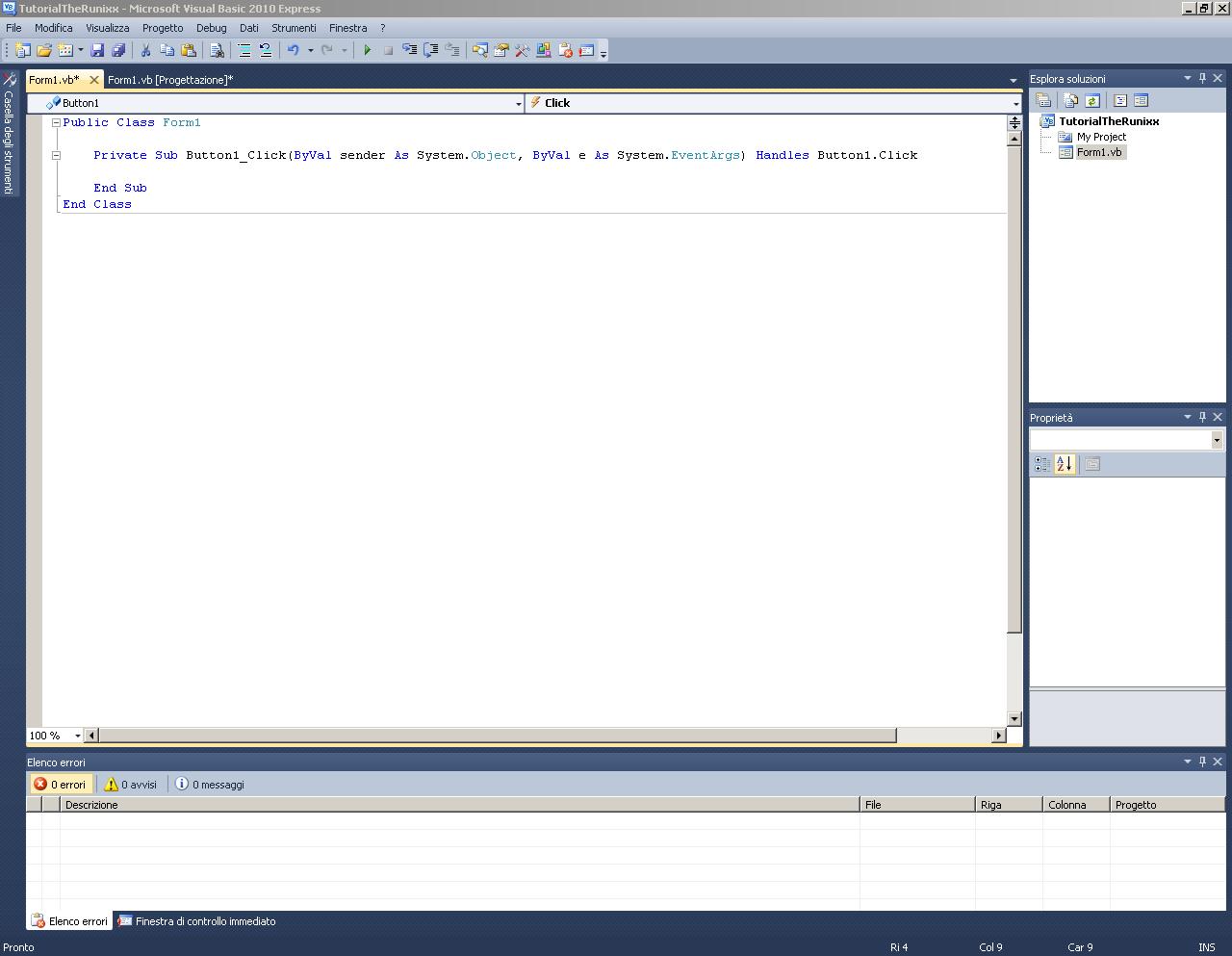 Creare un flooder in Visual Basic