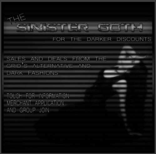 The Sinister Goth Designer