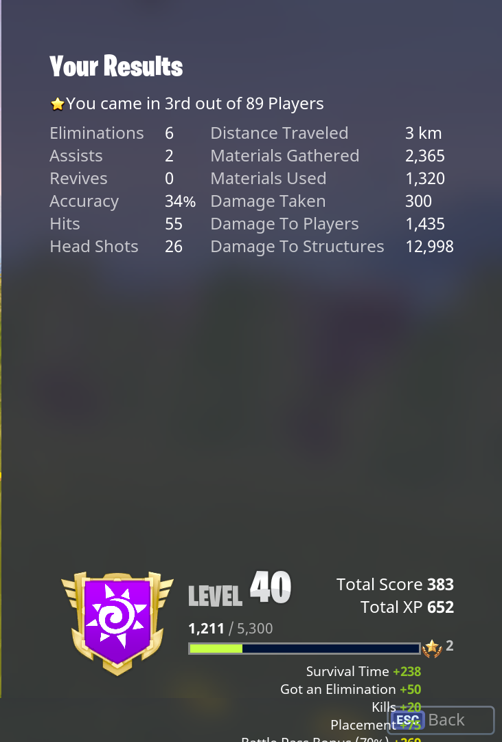 increase the amount of exp per kill - how do you earn xp in fortnite