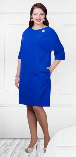Платья прямого силуэта с боковыми карманами
