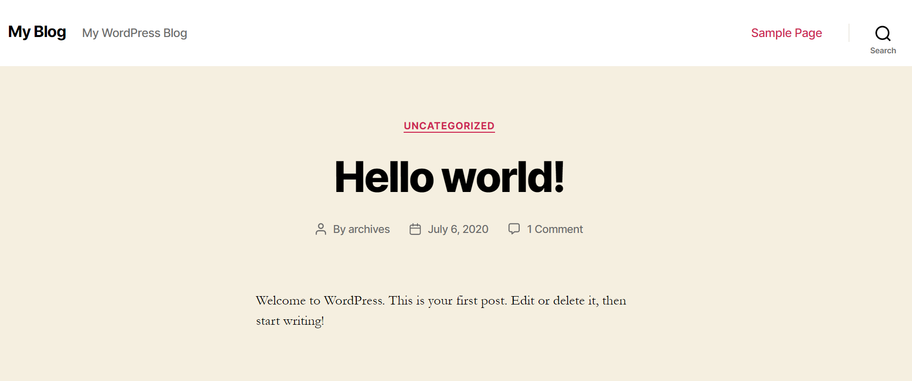 buat blog wordpress