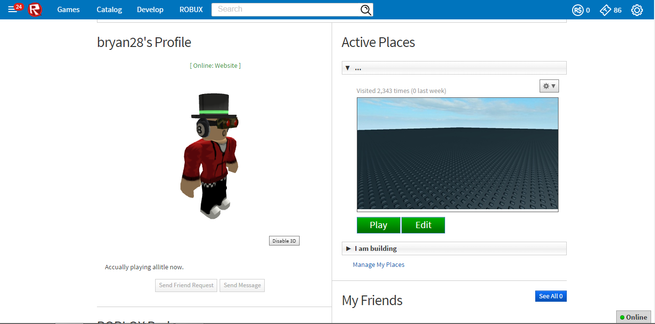 Selling - 2008 Roblox Account | PlayerUp Accounts