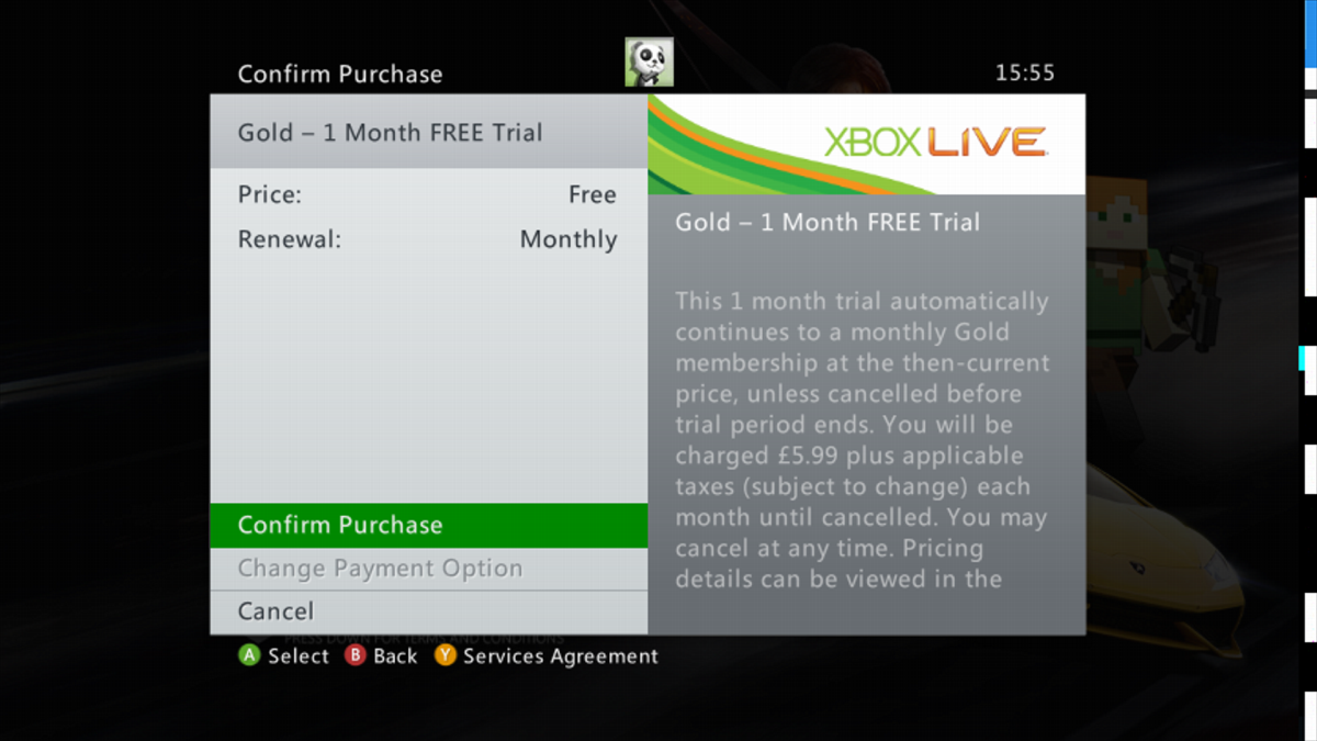 Free XBOX LIVE Gold 1 Month Once Per Account | Se7enSins
