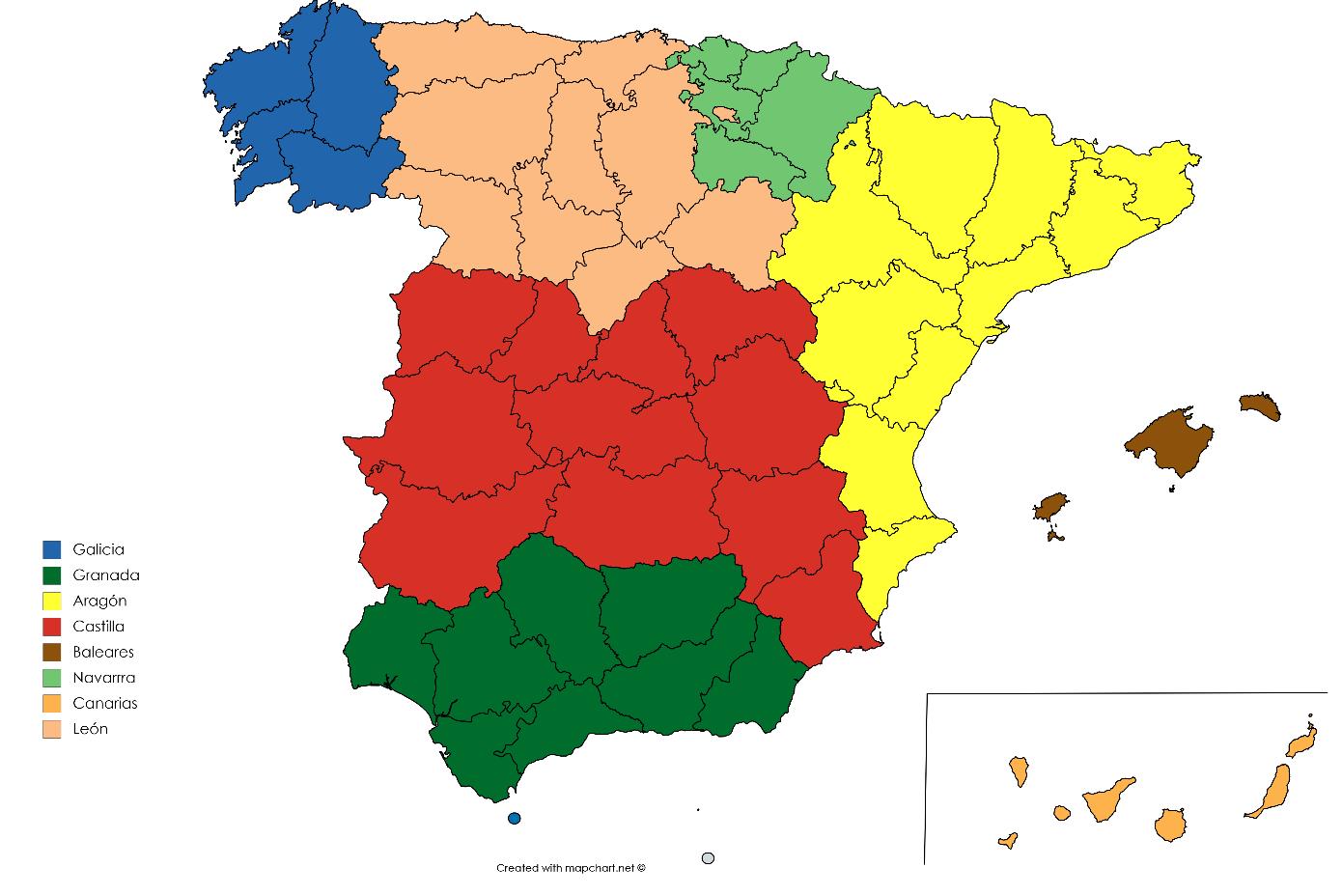Mi mapa de Espaa  ForoCoches
